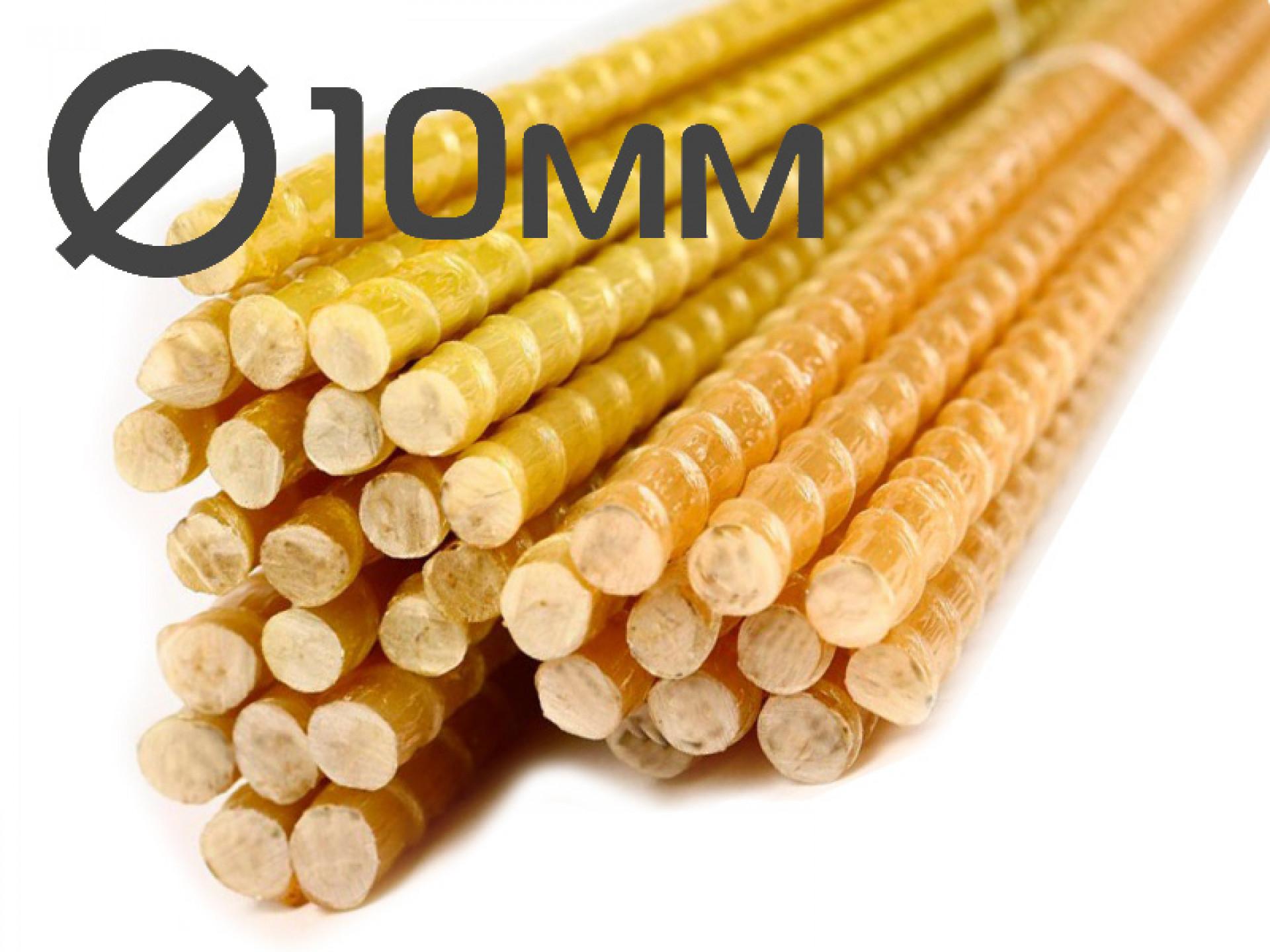 Колышки для подвязки растений 10x1200 миллиметров от производителя в Волгограде