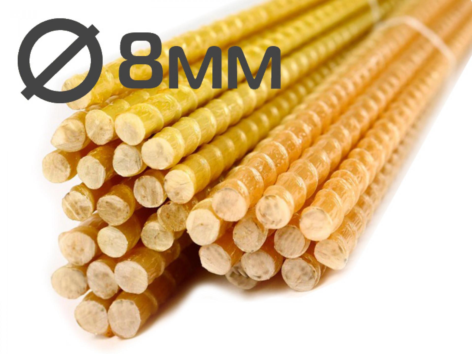 Колышки для подвязки растений 8x1500 миллиметров от производителя в Волгограде